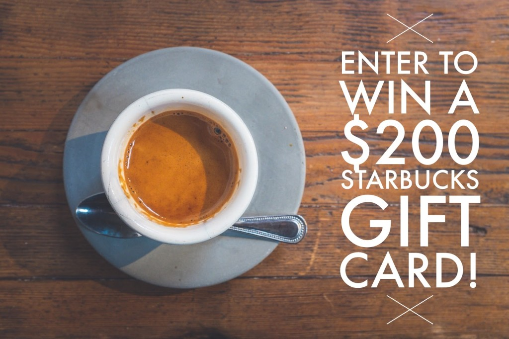 Starbucks Gift Card Giveaway by http://www.ohmygoshbeck.com/