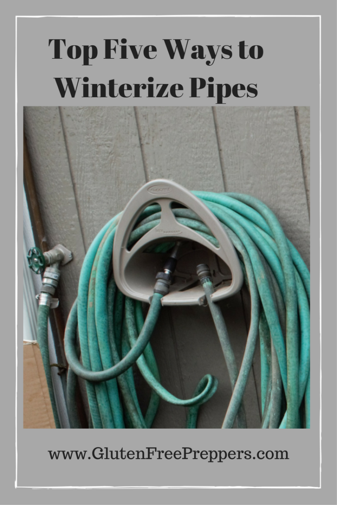 Top Five Ways to Winterize Pipes Copyright Adrienne Z. Milligan
